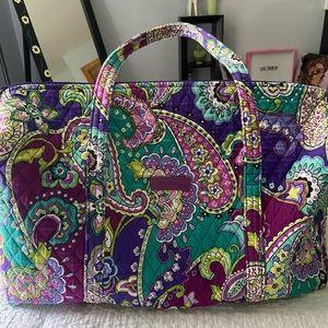 Large Vera Bradley duffle bag!